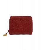 CHANEL(シャネル)の古着「財布」|レッド