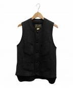 CUSHMAN(クッシュマン)の古着「ビーチクロスベスト」|ブラック
