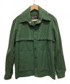 Columbia Sportswear(コロンビアスポーツウェア)の古着「ウールジャケット」|グリーン