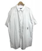 PAM(ファム)の古着「オーバーサイズシャツ」|ホワイト