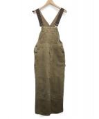 CarHartt(カーハート)の古着「ヴィンテージオーバーオール」|ブラウン