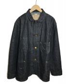 PHERROWS(フェローズ)の古着「カバーオール」|インディゴ