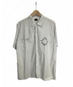 Deluxeware()の古着「レーヨンシャツ」|アイボリー