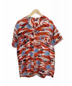 NEW YORKER(ニューヨーカー)の古着「アロハシャツ」|レッド