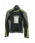 DAINESE(ダイネーゼ)の古着「ライダースジャケット」|ブラック×グレー