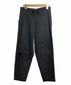 Ys(ワイズ)の古着「リメイク調パンツ」|ブラック