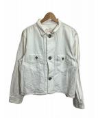 LEVIS RED(リーバイスレッド)の古着「ボックスデニムジャケット」|ネイビー