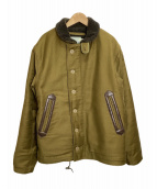 TROPHY CLOTHING(トロフィークロージング)の古着「N-1 ジャケット」|オリーブ