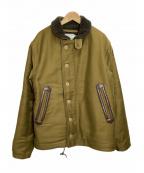 Trophy Clothing(トロフィークロージング)の古着「N-1 ジャケット」 オリーブ