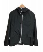 CDG JUNYA WATANABE MAN(コムデギャルソンジュンヤワタナベマン)の古着「フーデッドジャケット」|ブラック