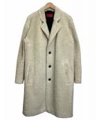HUGO BOSS(ヒューゴボス)の古着「テディコート」|ホワイト