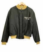 Stevenson Overall Co.(スティーブンソンオーバーオール)の古着「スーベニアジャケット」|ブラック