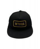WTAPS(ダブルタップス)の古着「キャップ」|ブラック