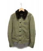 WACKO MARIA(ワコマリア)の古着「N-1デッキジャケット」|グリーン