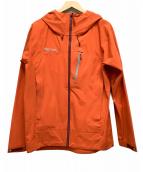 Marmot(マーモット)の古着「フュージャンドリプロジャケット」 オレンジ