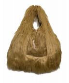 MM6 Maison Margiela(エムエムシックスメゾンマルジェラ)の古着「フェイクファーバッグ」