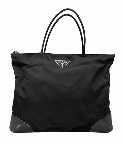 PRADA(プラダ)PRADA (プラダ) ハンドバッグ ブラックの古着・服飾アイテム