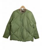 Comfy Outdoor Garment(コンフィーアウトドアガーメンツ)の古着「インナーダウン」|カーキ