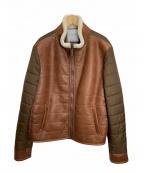 JACOB COHEN(ヤコブコーエン)の古着「切替ジャケット」|ブラウン