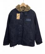 HOUSTON(ヒューストン)の古着「デッキジャケット」 インディゴ