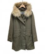 ARMY BY YVES SALOMON(アーミー イヴ サロモン)の古着「ライナー付モッズコート」|カーキ