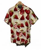 MILK BOY(ミルクボーイ)の古着「半袖シャツ」 ベージュ