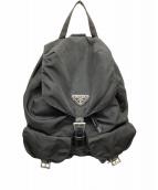 PRADA(プラダ)の古着「リュック」|ブラック