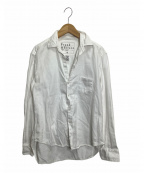 Frank&Eileen(フランクアンドアイリーン)の古着「クラシックリネンシャツ」 ホワイト