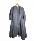 fog linen work(フォグリネンワーク)の古着「リネンカーディガン」 グレー