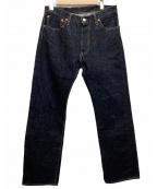 F.O.B FACTORY(エフオービー ファクトリー)の古着「デニムパンツ」|インディゴ