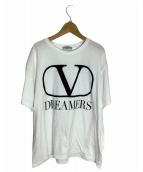 ()の古着「VロゴDREAMERS TEE」 ホワイト