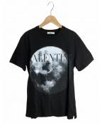 VALENTINO(ヴァレンティノ)の古着「MOON DUSTTEE」 ブラック
