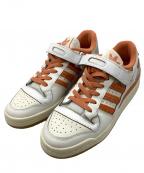 adidas Originals(アディダスオリジナル)の古着「FORUM 84 LOW PREMIUM」 ホワイト×オレンジ