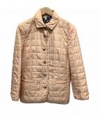 Salvatore Ferragamo()の古着「キルティングジャケット」|ピンク