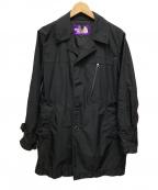 THE NORTHFACE PURPLELABEL(ザノースフェイス パープルレーベル)の古着「ナイロンコート」|ブラック