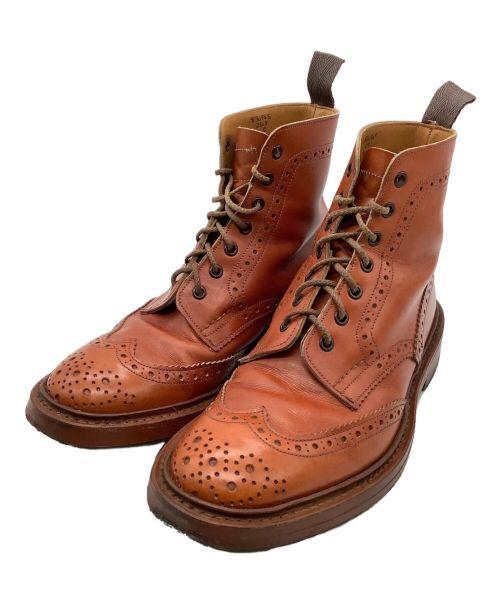 Tricker's(トリッカーズ)Tricker's (トリッカーズ) COUNTRY BOOTS MALTON ブラウン サイズ:8の古着・服飾アイテム