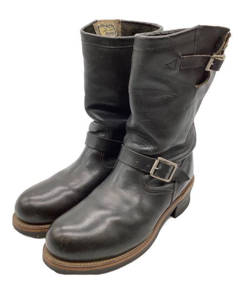 CHIPPEWA(チペワ)CHIPPEWA (チペワ) エンジニアブーツ ブラック サイズ:8Eの古着・服飾アイテム