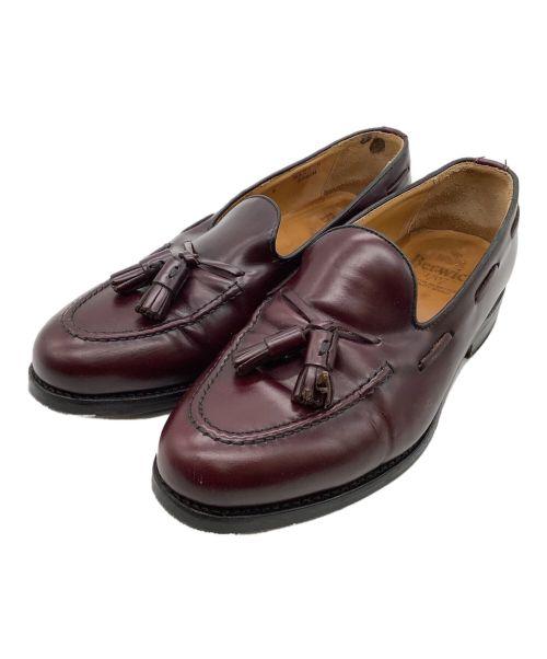 berwick(バーウィック)berwick (バーウィック) タッセルローファー ブラウン サイズ:7の古着・服飾アイテム