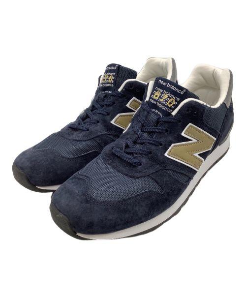 NEW BALANCE(ニューバランス)NEW BALANCE (ニューバランス) スニーカー ネイビー サイズ:10 1/2の古着・服飾アイテム