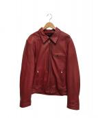 DEGNER(デグナー)の古着「ライダースジャケット」|レッド