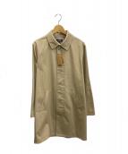 A.P.C(アーペーセー)の古着「比翼ステンカラーコート」|ベージュ