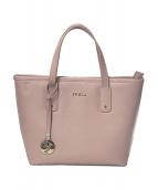 FURLA(フルラ)の古着「ハンドバッグ」|ピンク