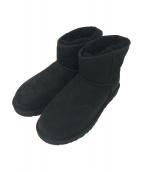 UGG(アグ)の古着「ムートンブーツ」|ブラック