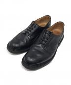 Trickers(トリッカーズ)の古着「ウィングチップシューズ」|ブラック