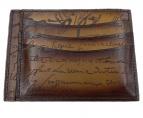 Berluti(ベルルッティ)の古着「カードケース」|ブラウン