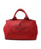 PRADA(プラダ)の古着「ハンドバッグ」 レッド