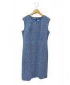 23区×RATTI(23ク×ラッチ)の古着「ノースリーブワンピース」|ブルー