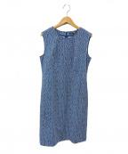 23区×RATTI(23ク×ラッチ)の古着「ノースリーブワンピース」 ブルー