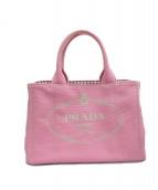PRADA(プラダ)の古着「トートバッグ」|ピンク