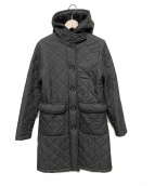 MACKINTOSH PHILOSOPHY(マッキントッシュフィロソフィー)の古着「キルティングコート」|ブラック